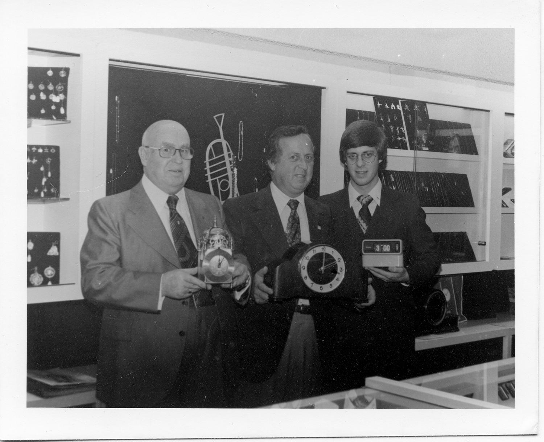 Omer, André et Normand en 1979